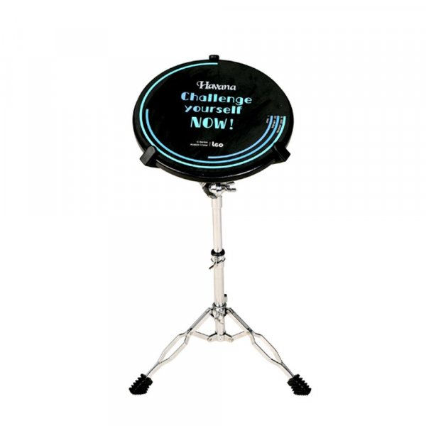 havana drum practice pad with stand 12 inches