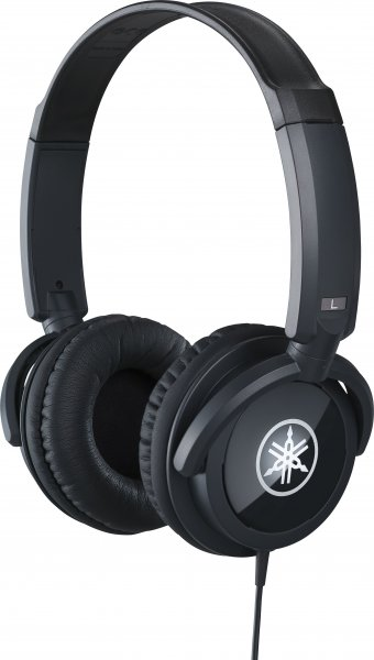 Yamaha HPH-100B Dynamic Closed-Back Headphones