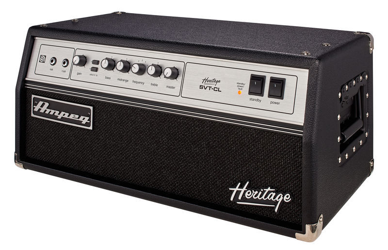 Ampeg Heritage Series SVT-CL 300W Tube Bass Amp Head