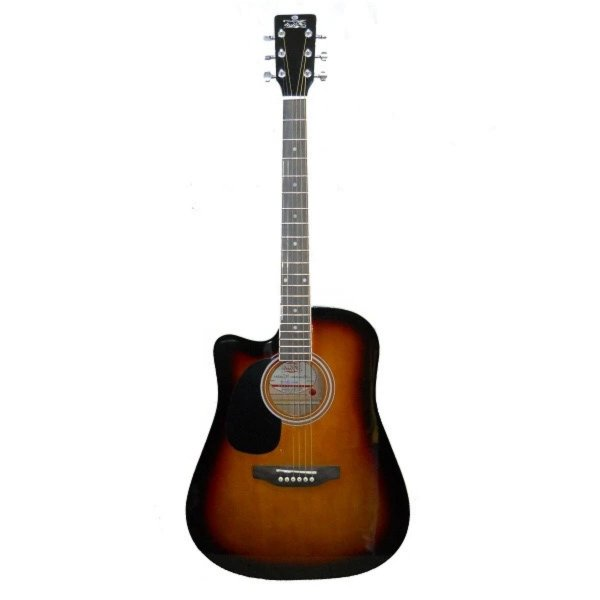 Pluto 41 inch Lefty Acoustic Guitar HW41CL with Bag