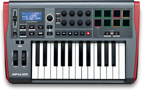 Novation Impulse 25 25-key Keyboard Controller