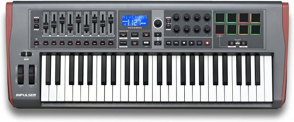 Novation Impulse 49 49-key Keyboard Controller
