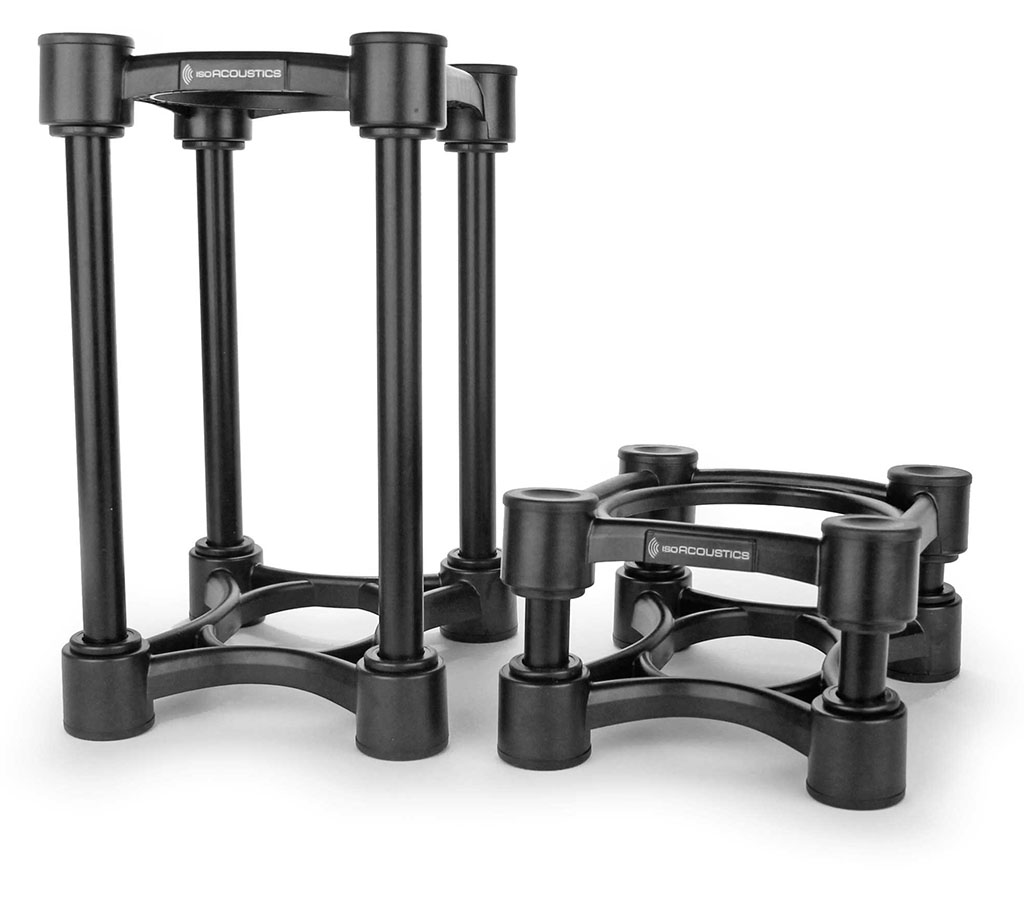 iso acoustics monitor isolation stands