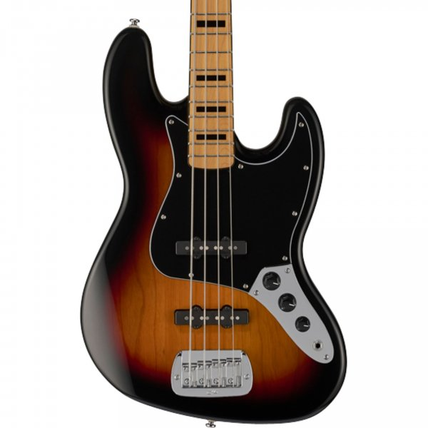 G&L JB Tribute Series Bass Guitar - 3 Tone Sunburst
