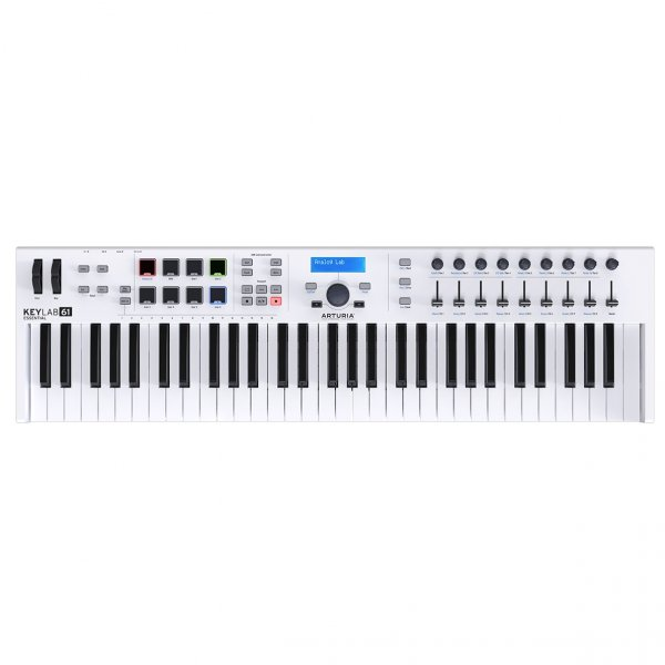 Arturia KeyLab Essential 61 - Universal MIDI Controller and Software