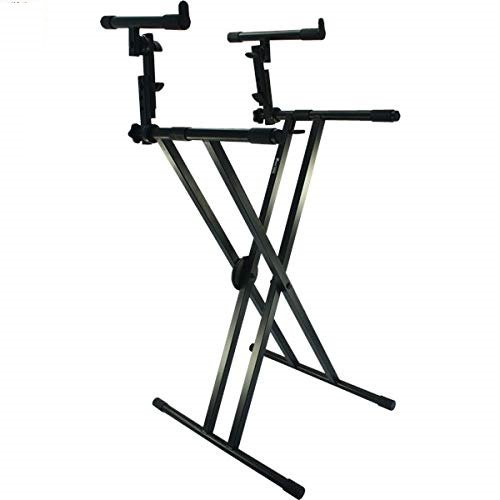 Tristar Double Keyboard Stand