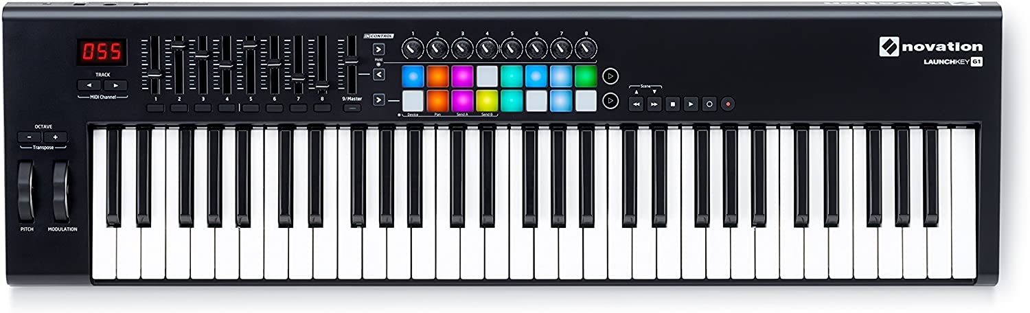 Novation Launchkey 61 61-key Keyboard Controller