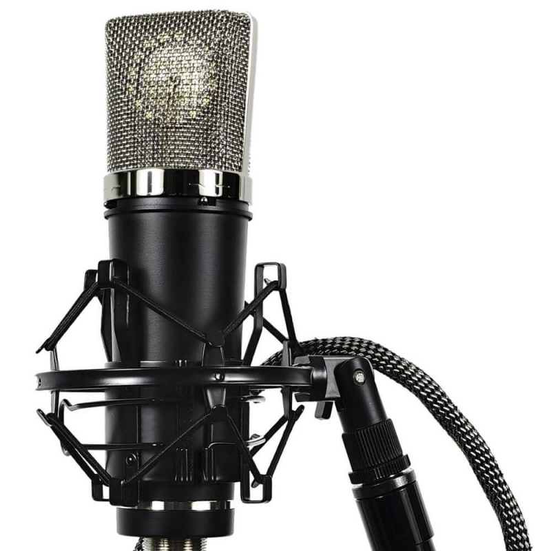 Lauten Audio LA220 Series Black Condenser Microphone
