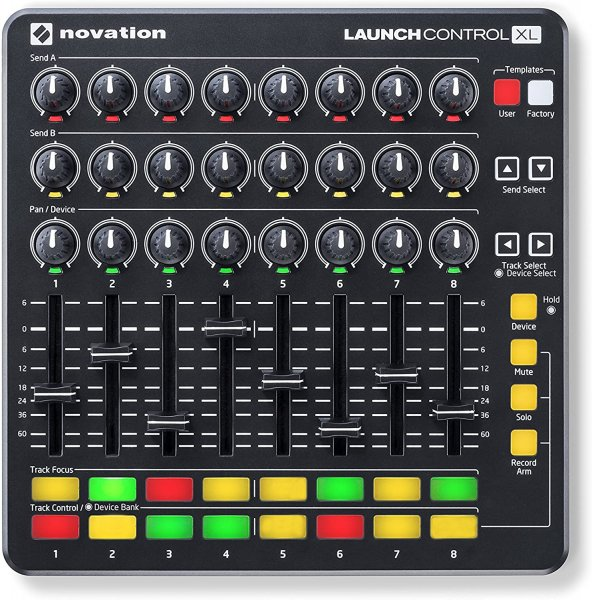 Novation Launch Control XL DJ Controllers