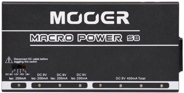 Mooer Macro Power S8 Power Supply