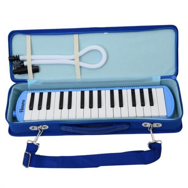 melodica with pipe and mouthpiece