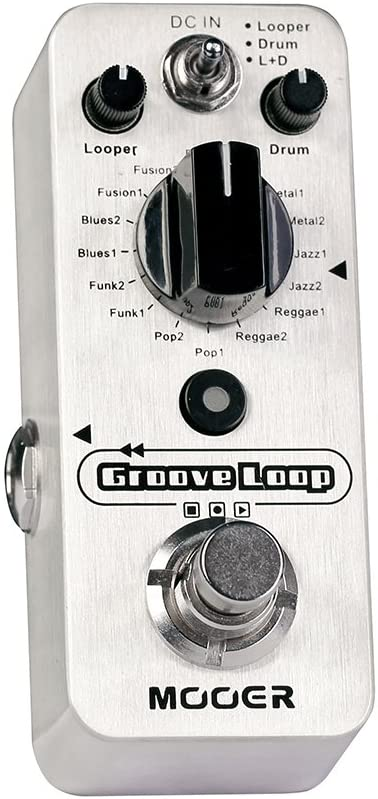 MOOER Groove Loop Drum Machine Looper Pedal