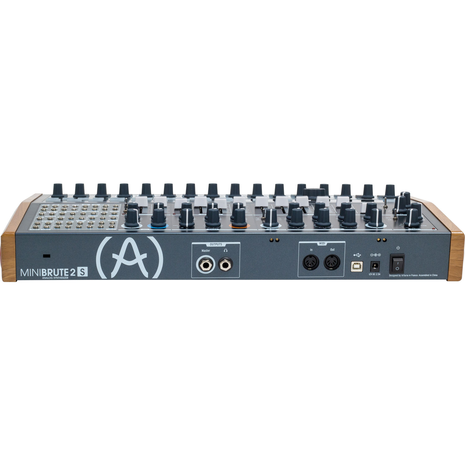 Arturia MiniBrute 2S Semi-Modular Analog Synthesizer