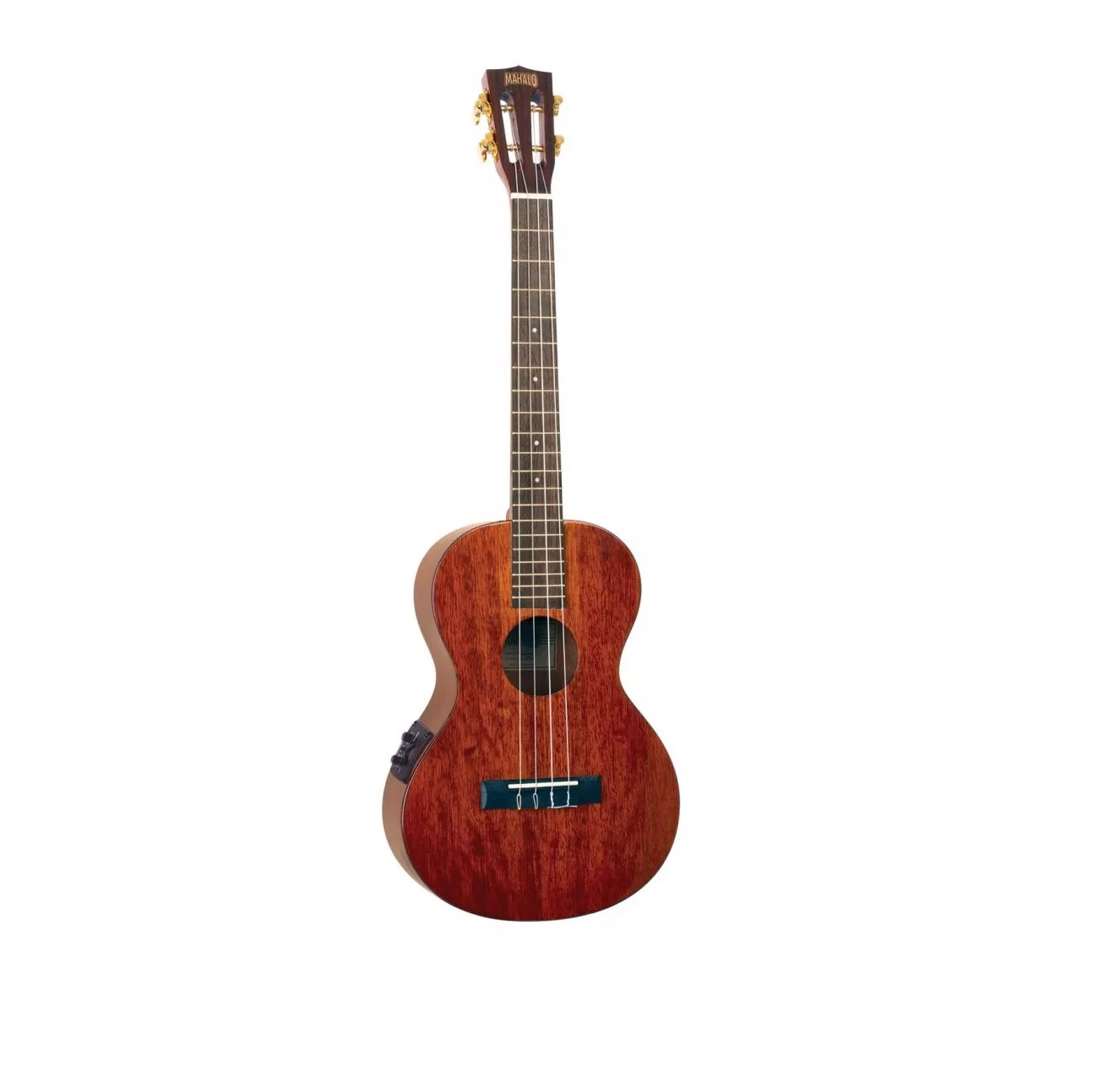 Mahalo Semi Acoustic Baritone Ukulele with accessories and Bag