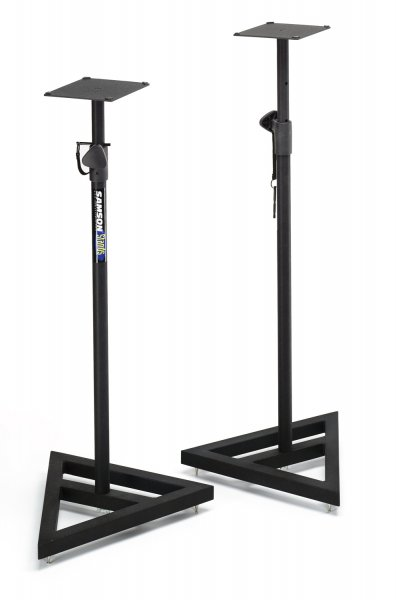 Samson MS200 Heavy Duty Studio Monitor Stands (Pair)