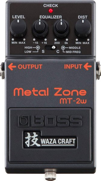 Boss MT-2W Waza Metal Zone Distortion Pedal