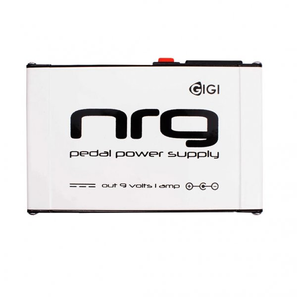 NRG Pedal Power Supply – 9volts, 1amp, Center -ve Silver