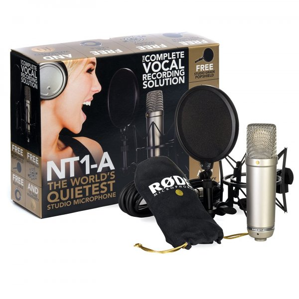 Rode NT1A Condenser Microphone Bundle