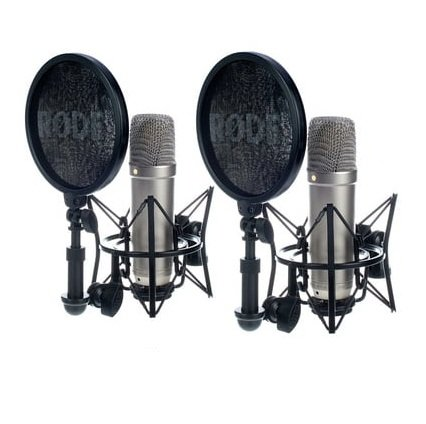 Rode NT1-A-MP Matched Pair of Large-diaphragm Condenser Microphones
