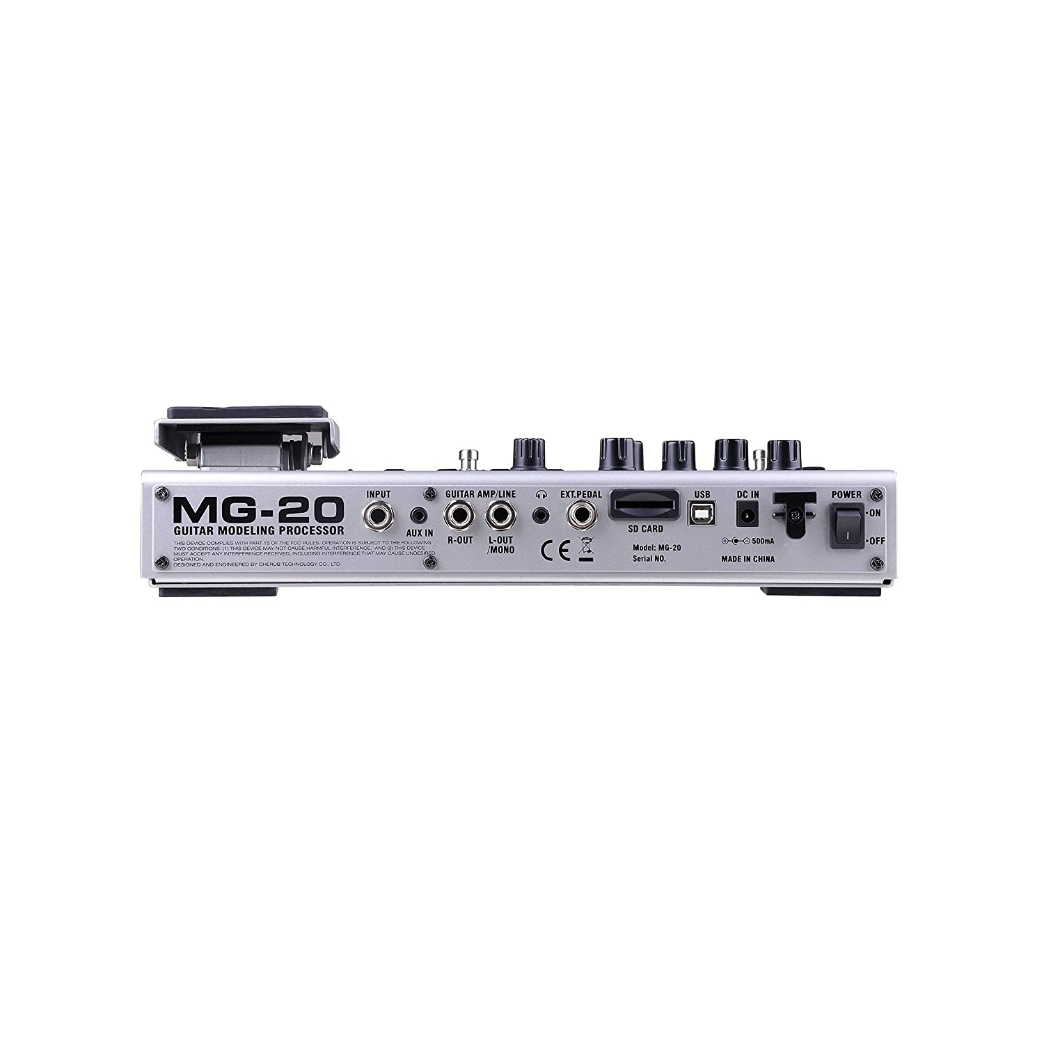 NUX MG20 Guitar Processor