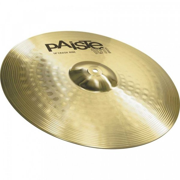 Paiste 101 Series 18″ Brass Crash Ride Cymbal