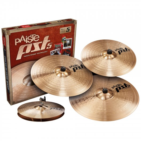 Buy Paiste rock cymbal set online in India