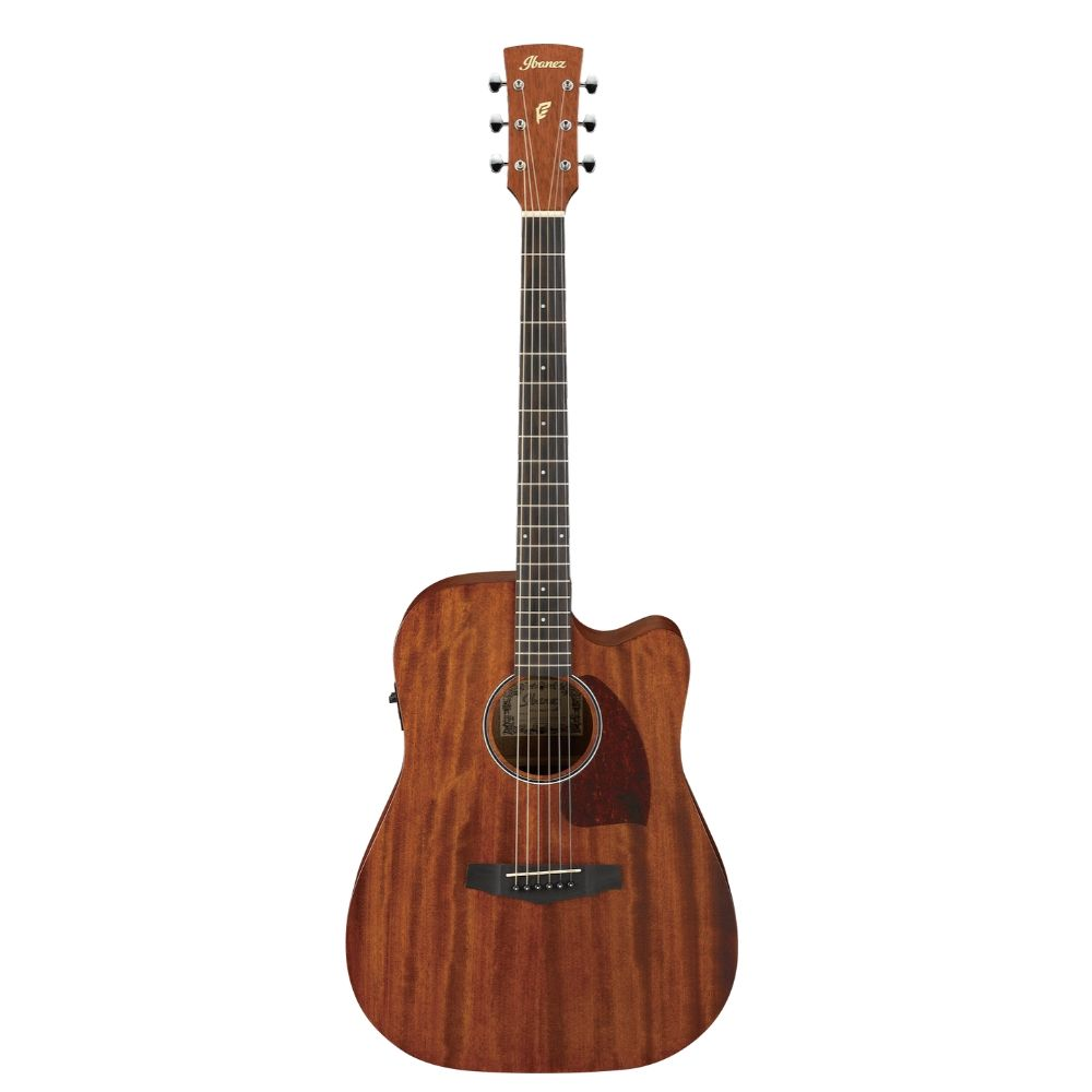 Ibanez PF12MHCE Dreadnought Cutaway Semi Acoustic Guitar - Open Pore Natural