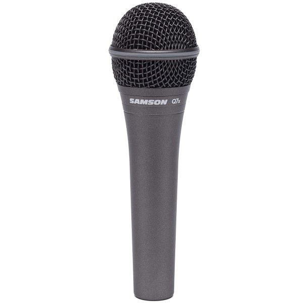 Samson Q7x Supercardioid Dynamic Vocal Microphone