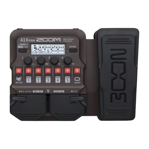 Zoom A1X Four Acoustic Instrument Multi-Effect Processor