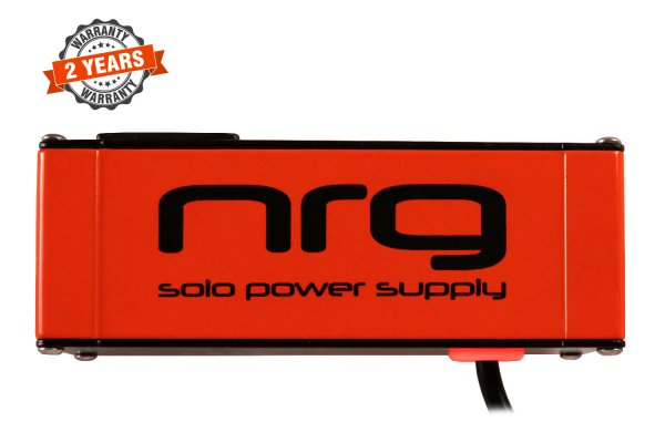 NRG Solo Power Supply – 9volts, 1amp, Center -ve Brick Red