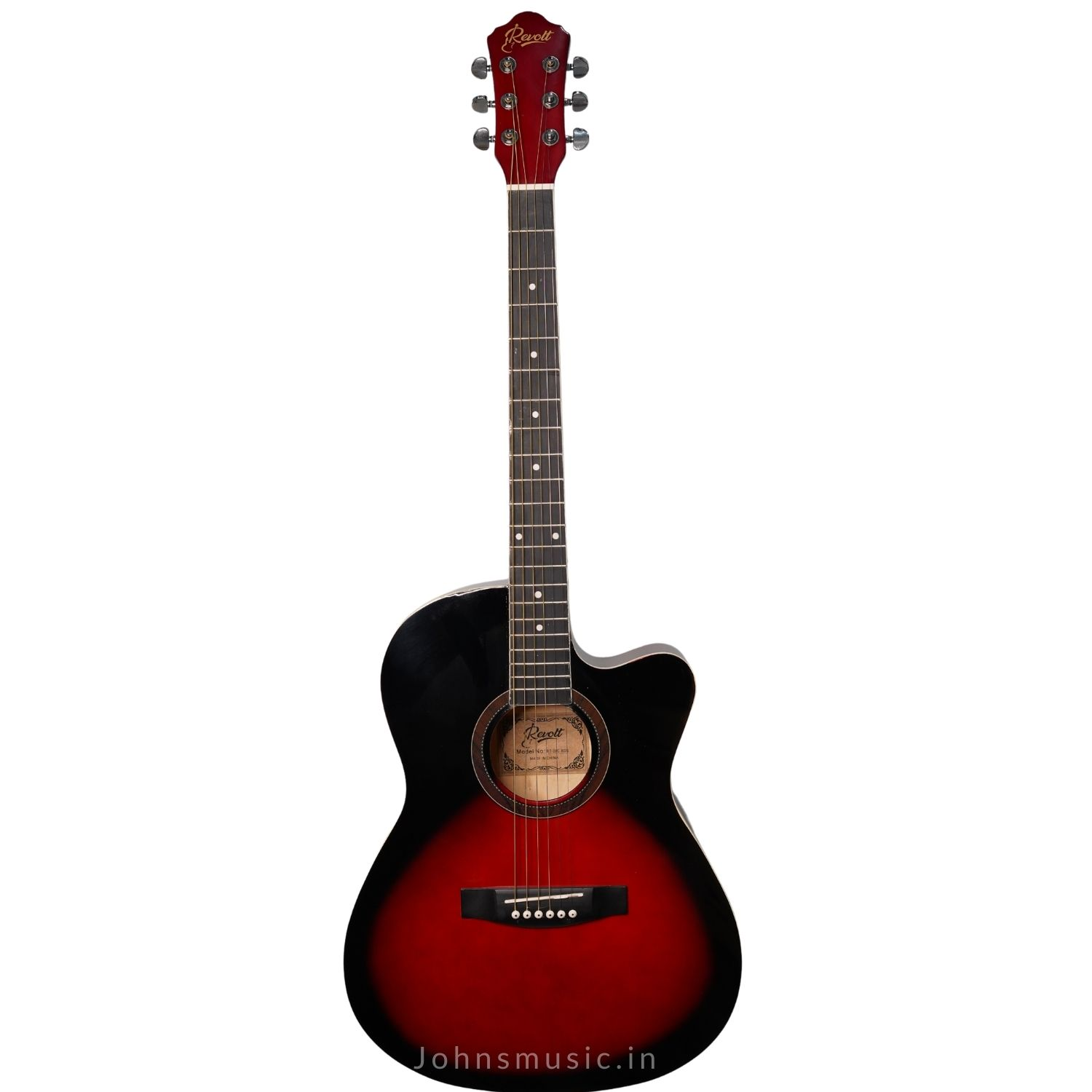 REvolt 39c beginner Acoustic Guitar  online price in india