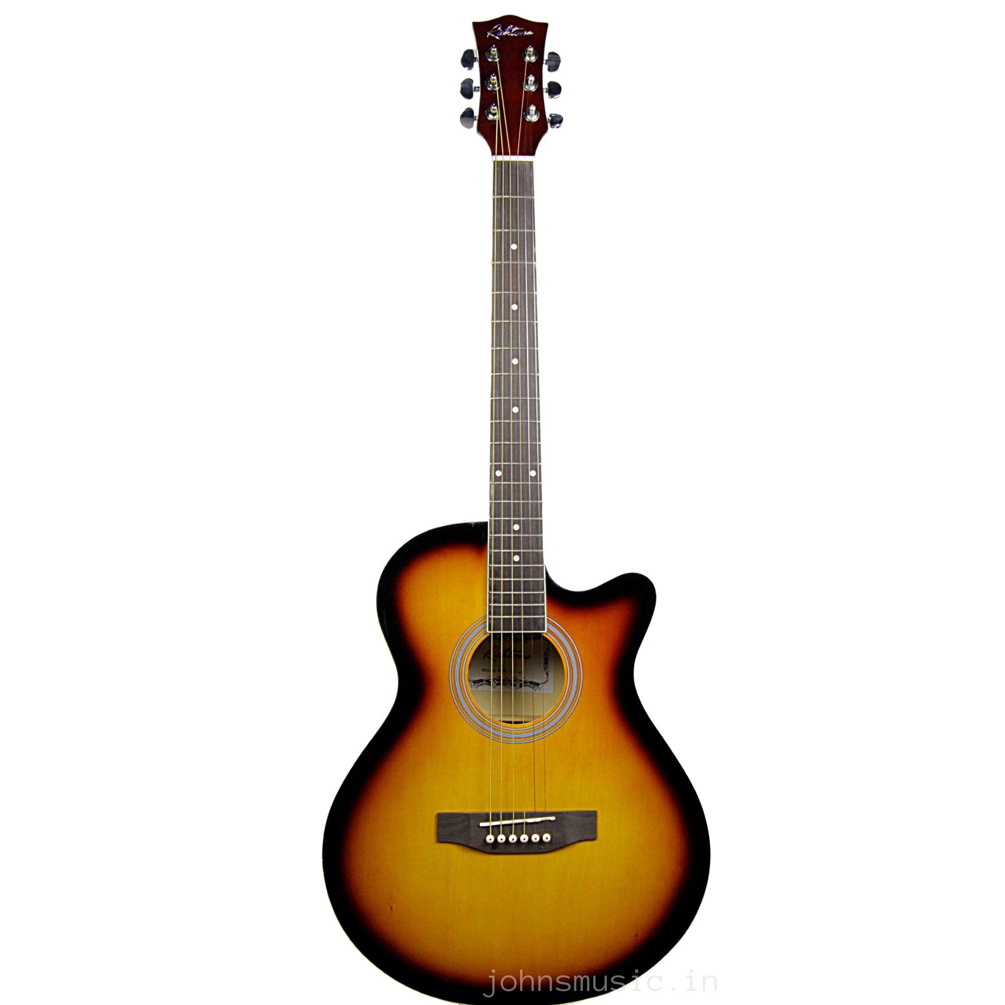Richtone Acoustic Gutiar 40 Inch Buy Beginner Guitars Online In India Johnsmusic In
