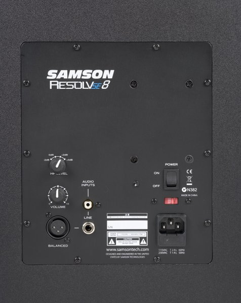 "Samson Resolv SE8 8"" Powered Studio Monitor  - Single"