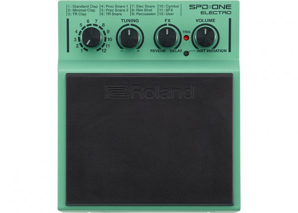 Roland SPD-One Drum Pad - Electro
