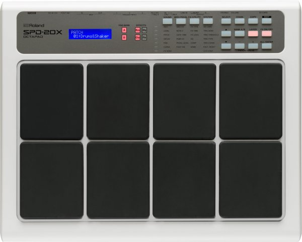 ROLAND SPD 20X OCTOPAD - White
