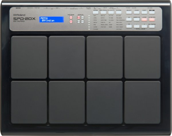 Roland SPD 20X Octopad Black