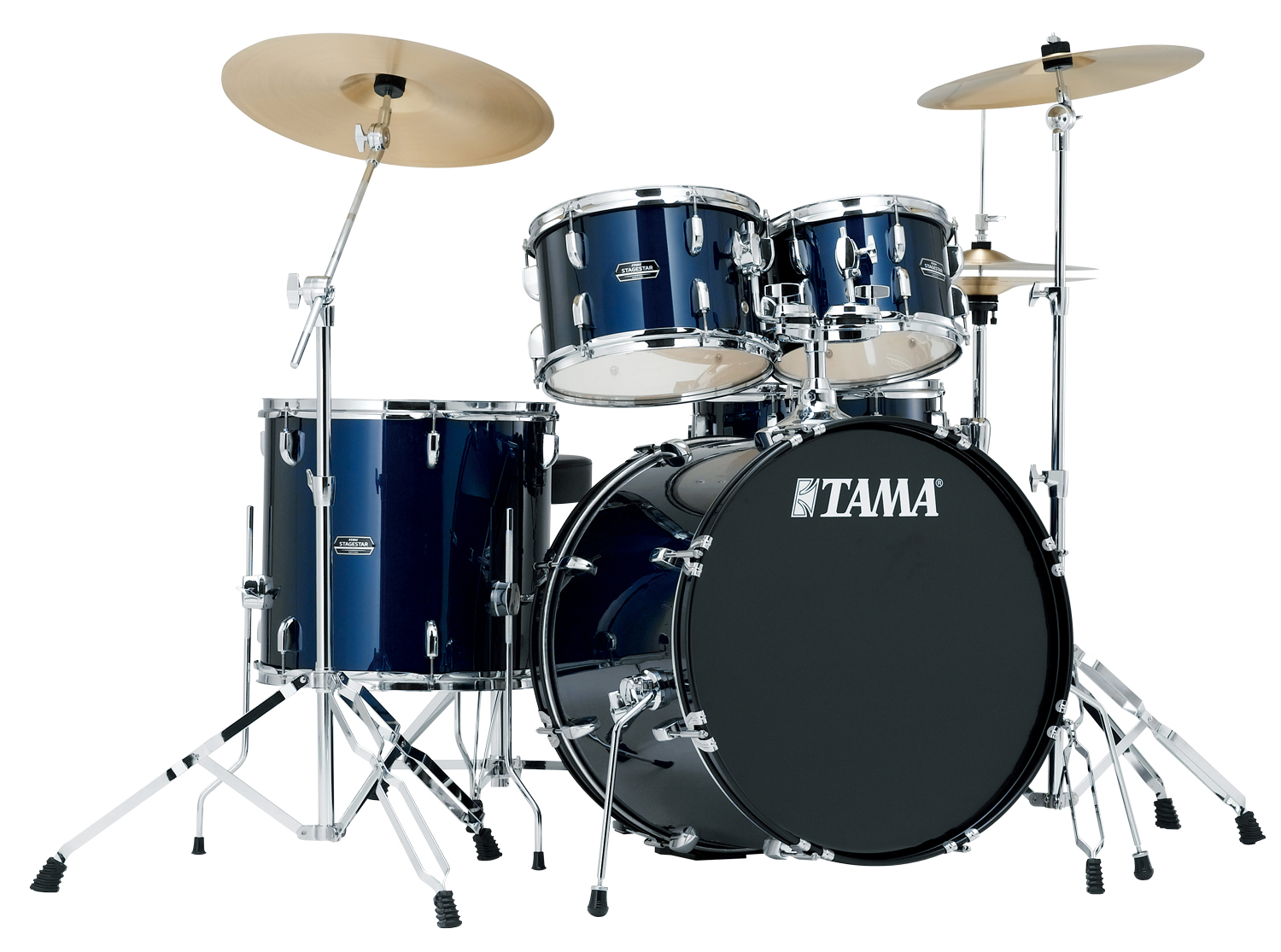 Tama Stagestar SG52KH5 5-Piece Acoustic Drum Kit with 22-Inch Bass Drum