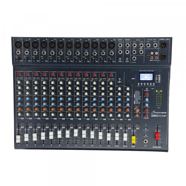 Studiomaster Club XS 16+ 16 Input Channel Analog Mixer