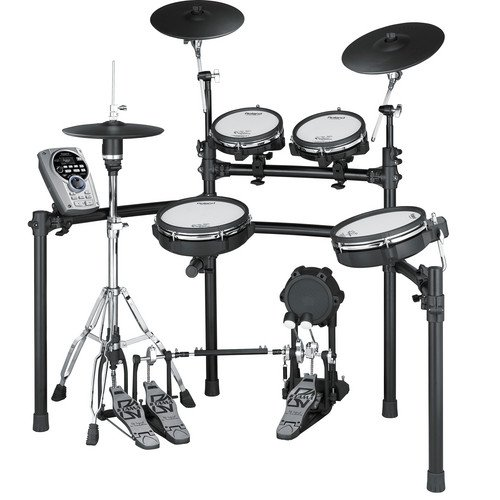 Roland TD-15KV V-Tour Series V-Drum Set with MDS-9V Stand