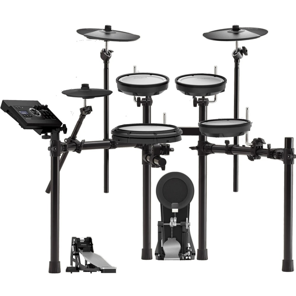 Roland TD-17KV-L Electronic Drum Kit with MDS-Compact Drum Stand
