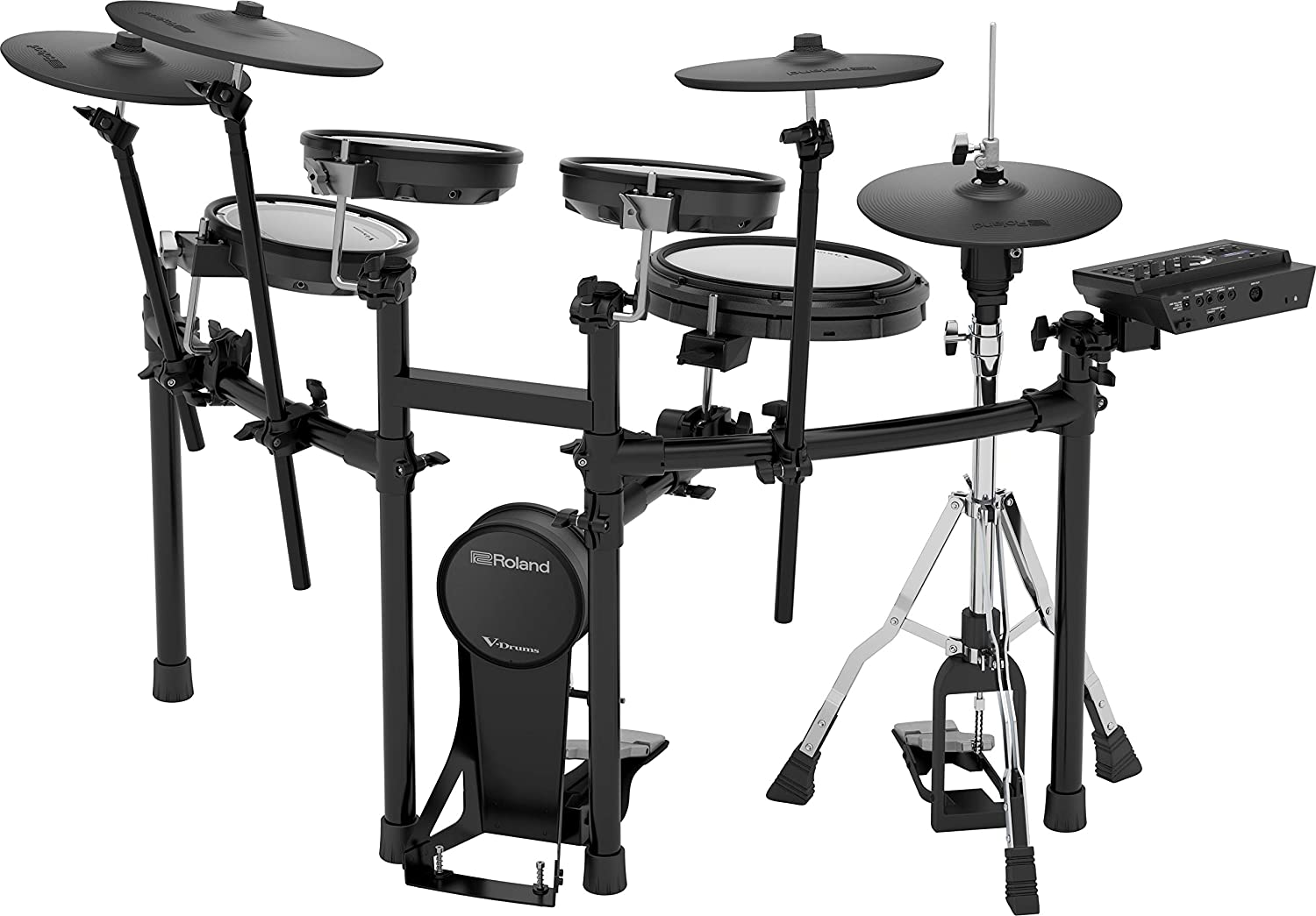 Roland V-Drums TD-17KVX Electronic Drum Set with MDS Compact Stand