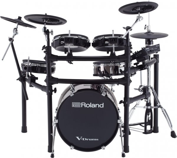 Roland TD-25KVX Electric Drum Kit with MDS- STD Rack Mount Stand