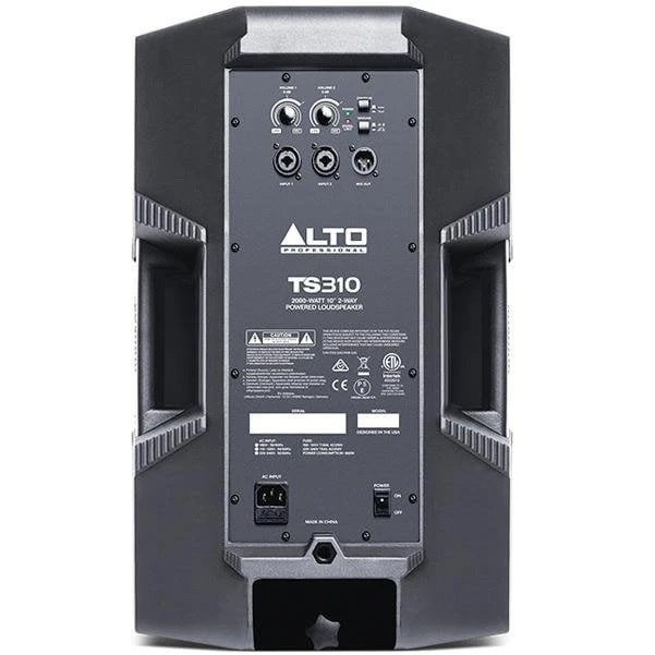 Alto TS310 2000-Watt 10-Inch 2-Way Active PA Speaker