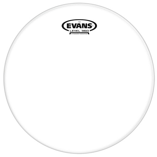evans g2 clear drum head for toms batter side