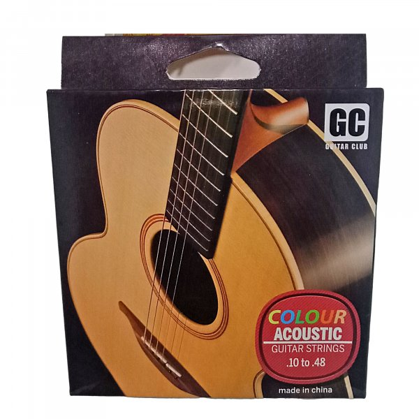 GC Colored Acoustic Guitar Strings