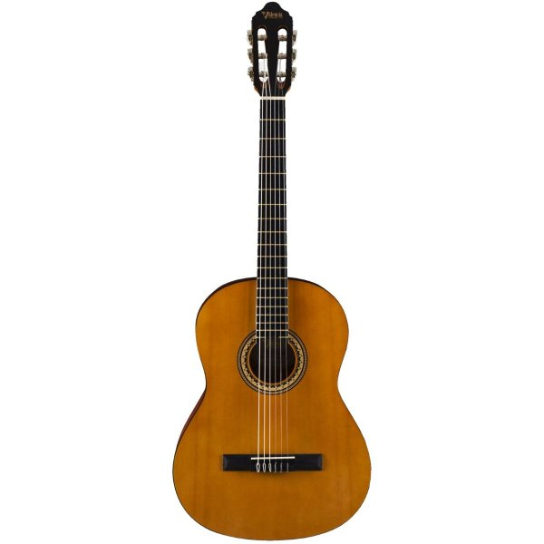 Valencia Classical Guitar 4/4 size Hybrid Narrow Neck Antique Natural with truss rod