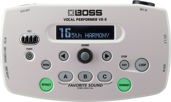 Boss VE-5 Vocal Effects Processor