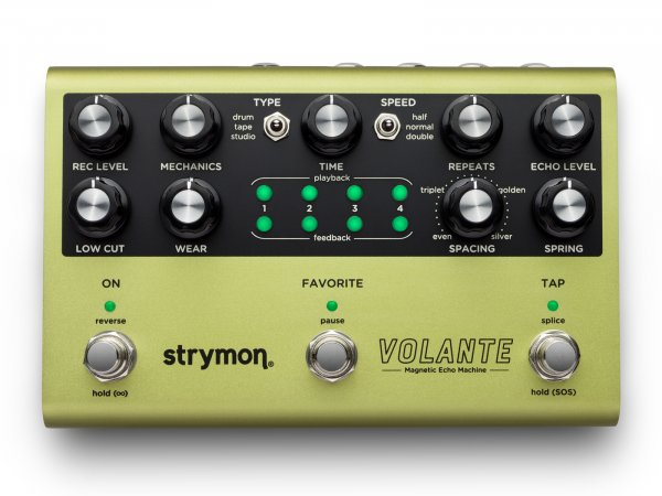 Strymon Volante Magnetic Echo Machine Pedal