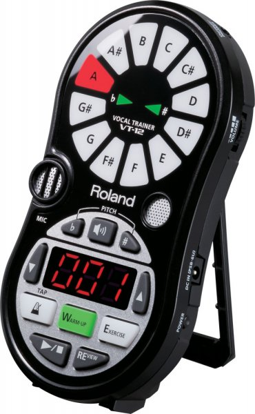 Roland VT-12 Vocal Trainer - Black