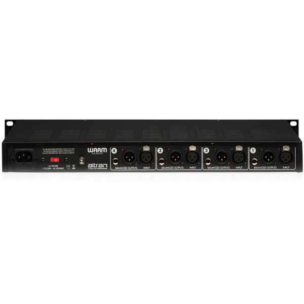 Warm Audio WA-412 4-Channel Microphone Pre-Amp with DI